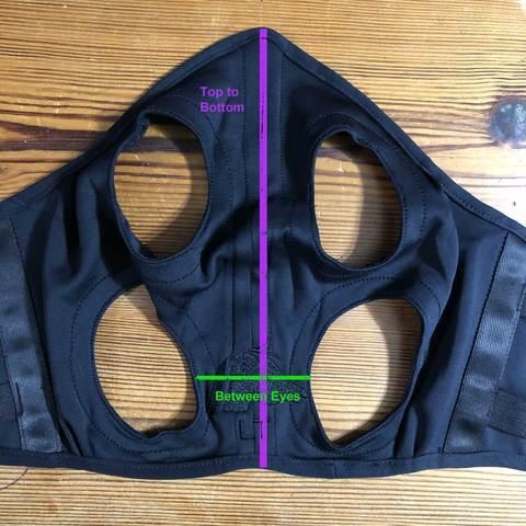 Fenwick Liquid Titanium Maske, Velcro