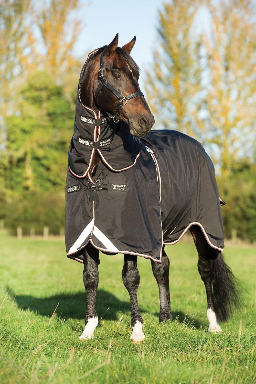 Horseware Rambo Optimo utedekken, inkl. 400g. Liner