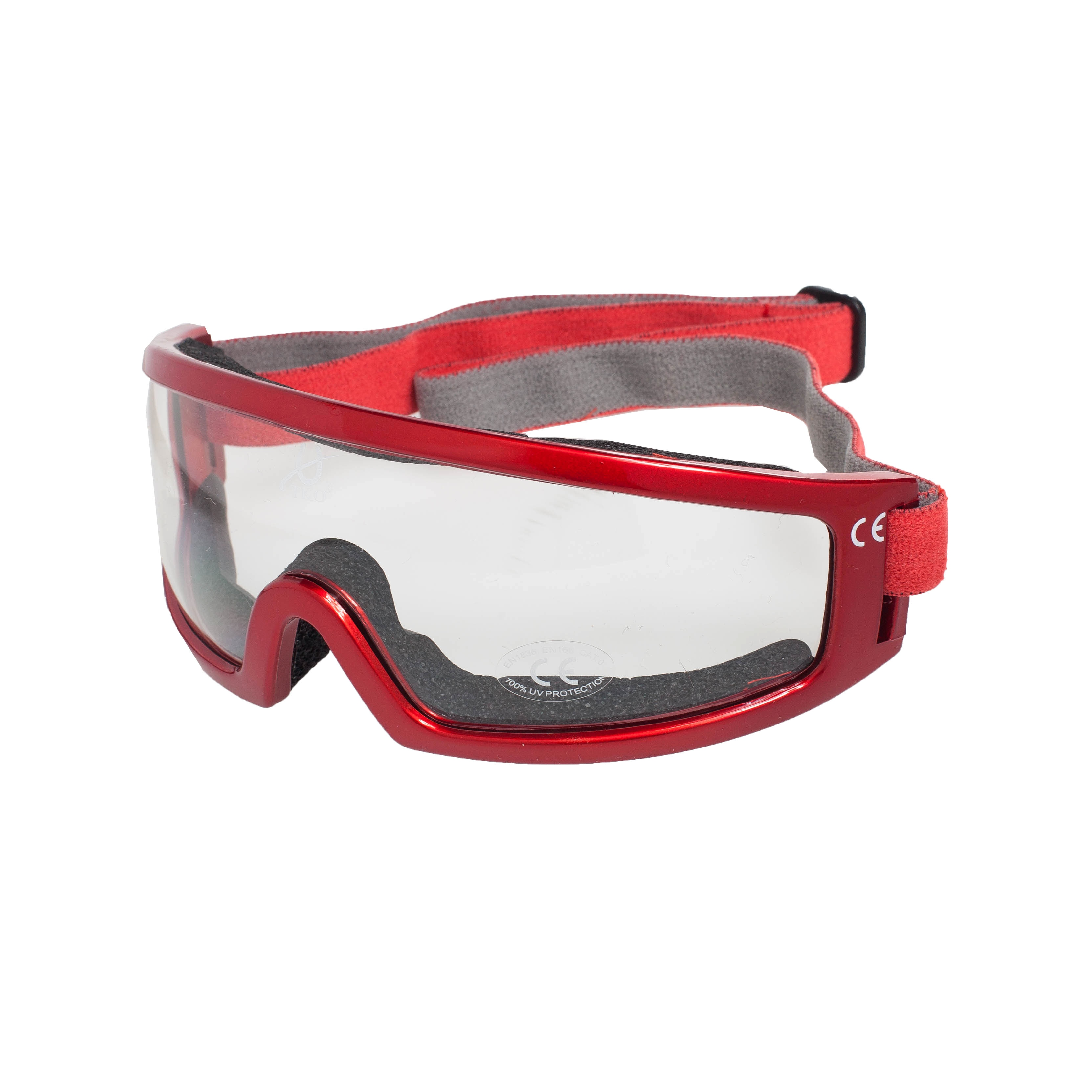 TKO Aerodynamisk innrammet polykarbonat løpsbriller Evolution Mode