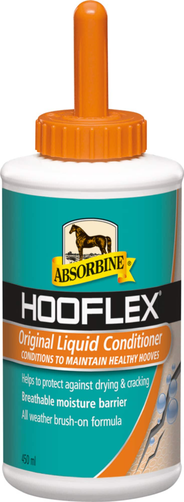 Absorbine Hooflex -kavioiden nestemäinen hoitoaine, 444 ml
