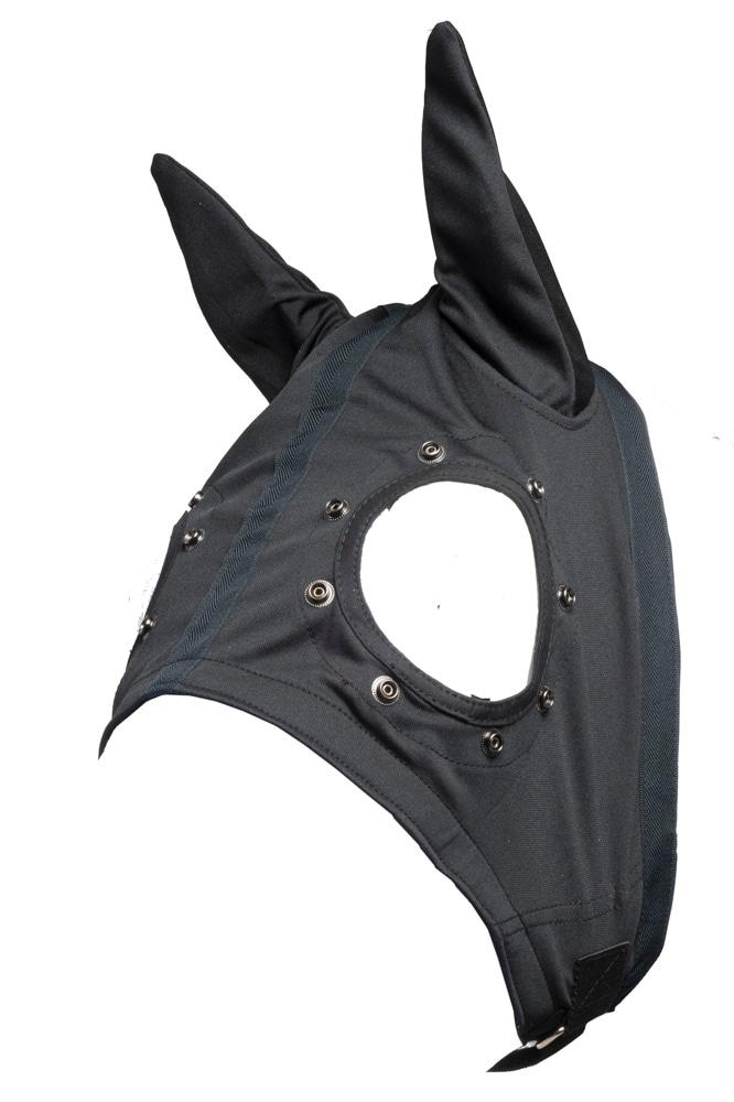 Wahlsten hodeskydd med ører og trykknapper