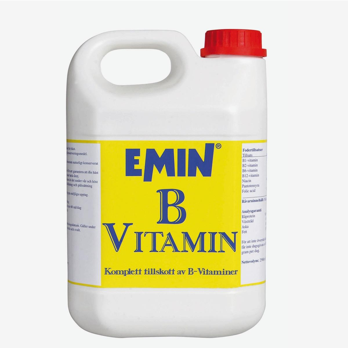 Emin B-vitamin, 2500 ml (Levering*)