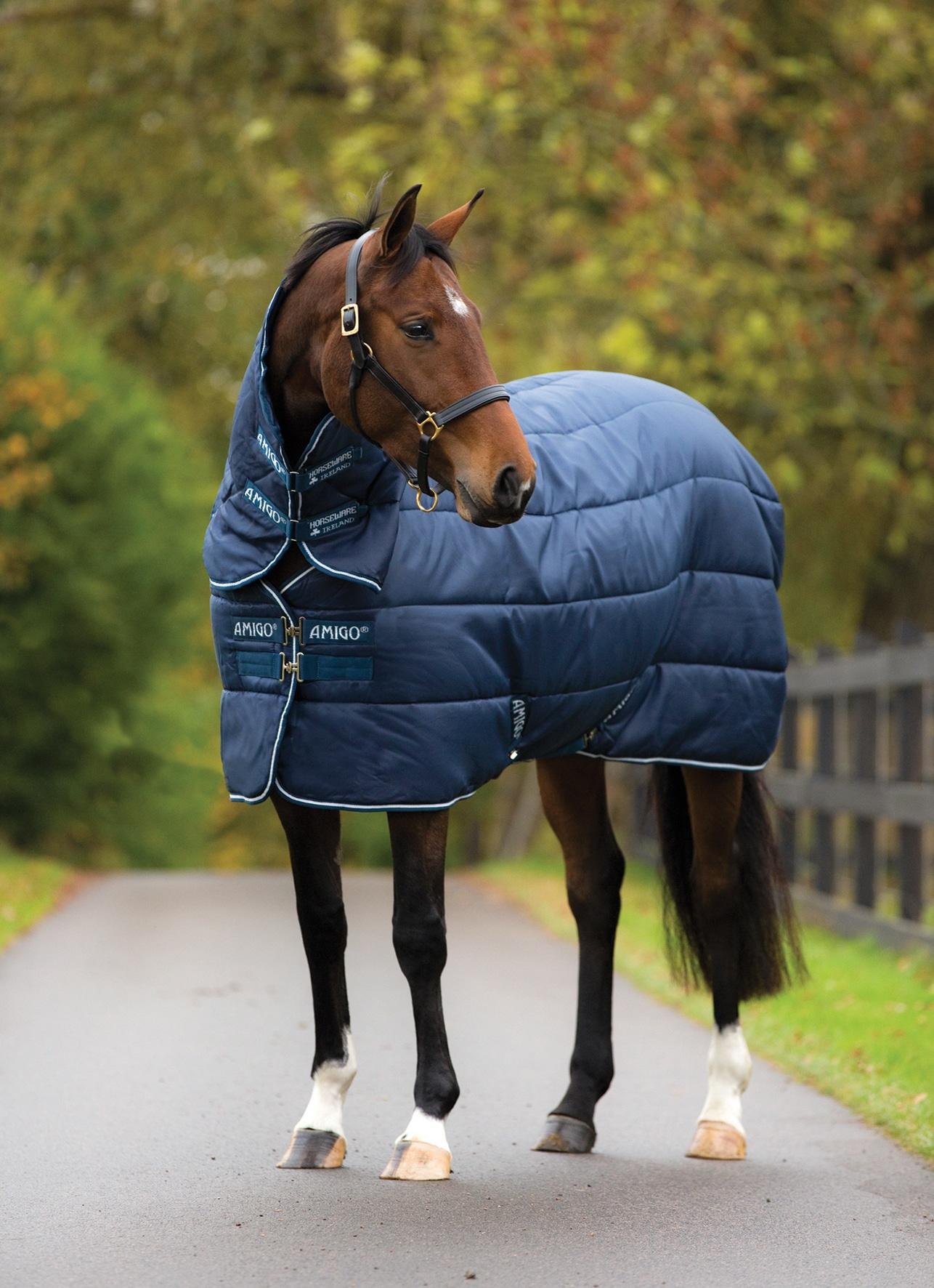 Horseware Amigo Insulator, tykt dekken (inkl hals), 350g