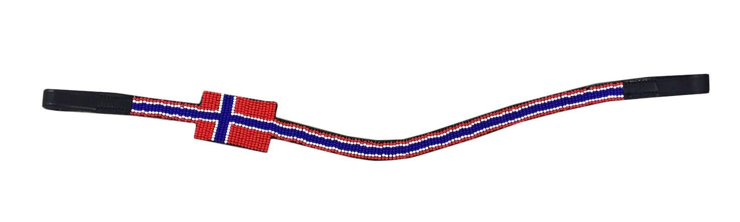 Wahlsten pannebånd med norsk flagg