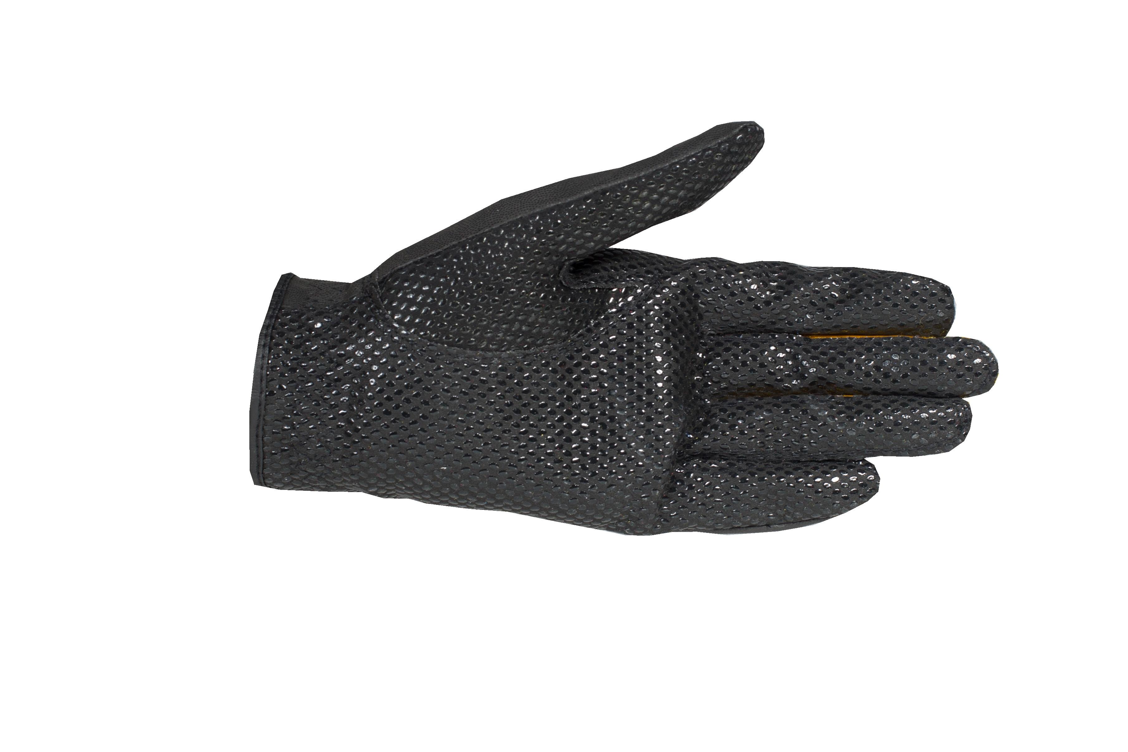 TKO Løpshansker i syntetisk lær med silikon i håndflaten for ekstra grep
