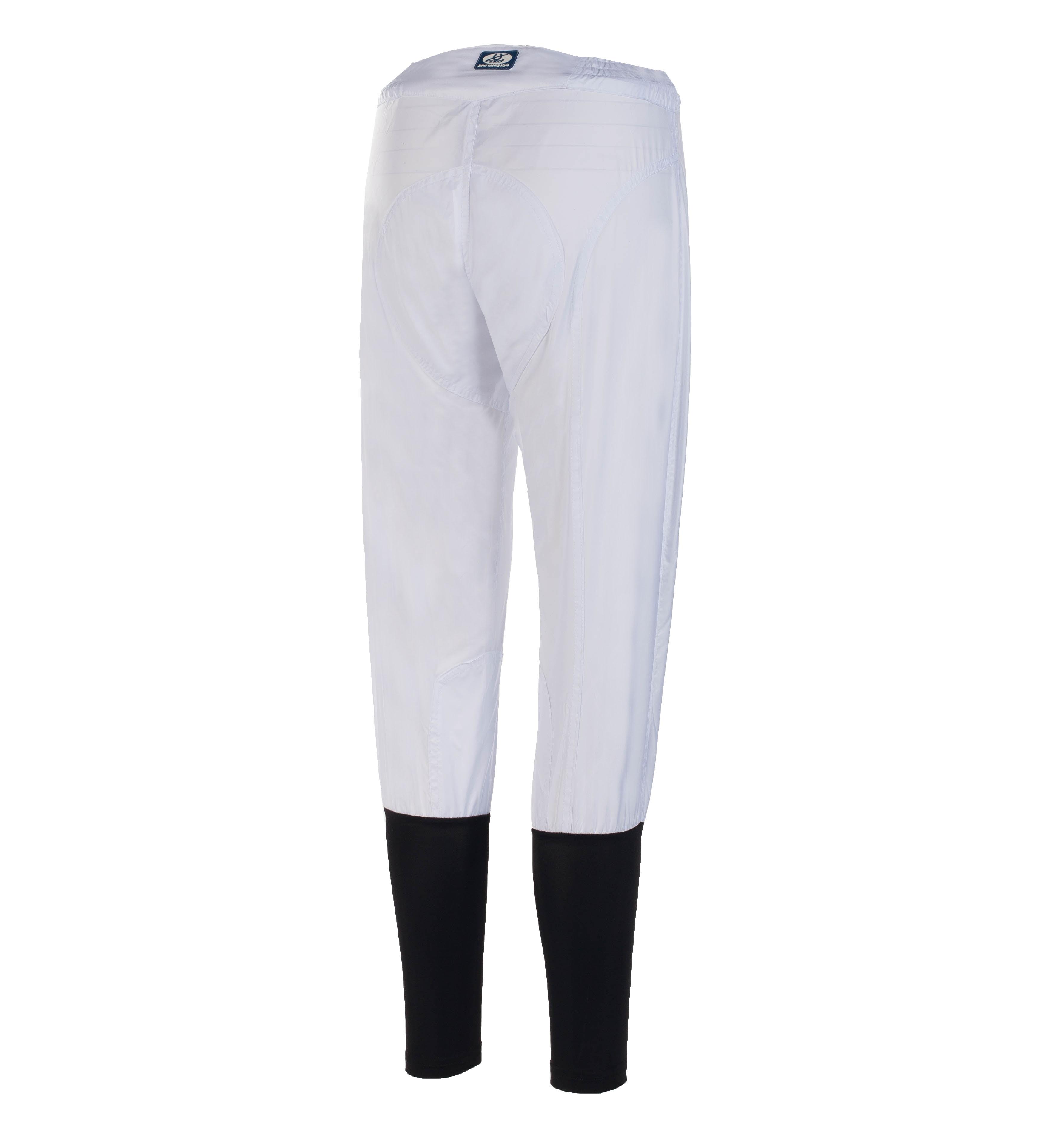 TKO Løpsbukser i polyester, Slim line med sort bakside i lycra
