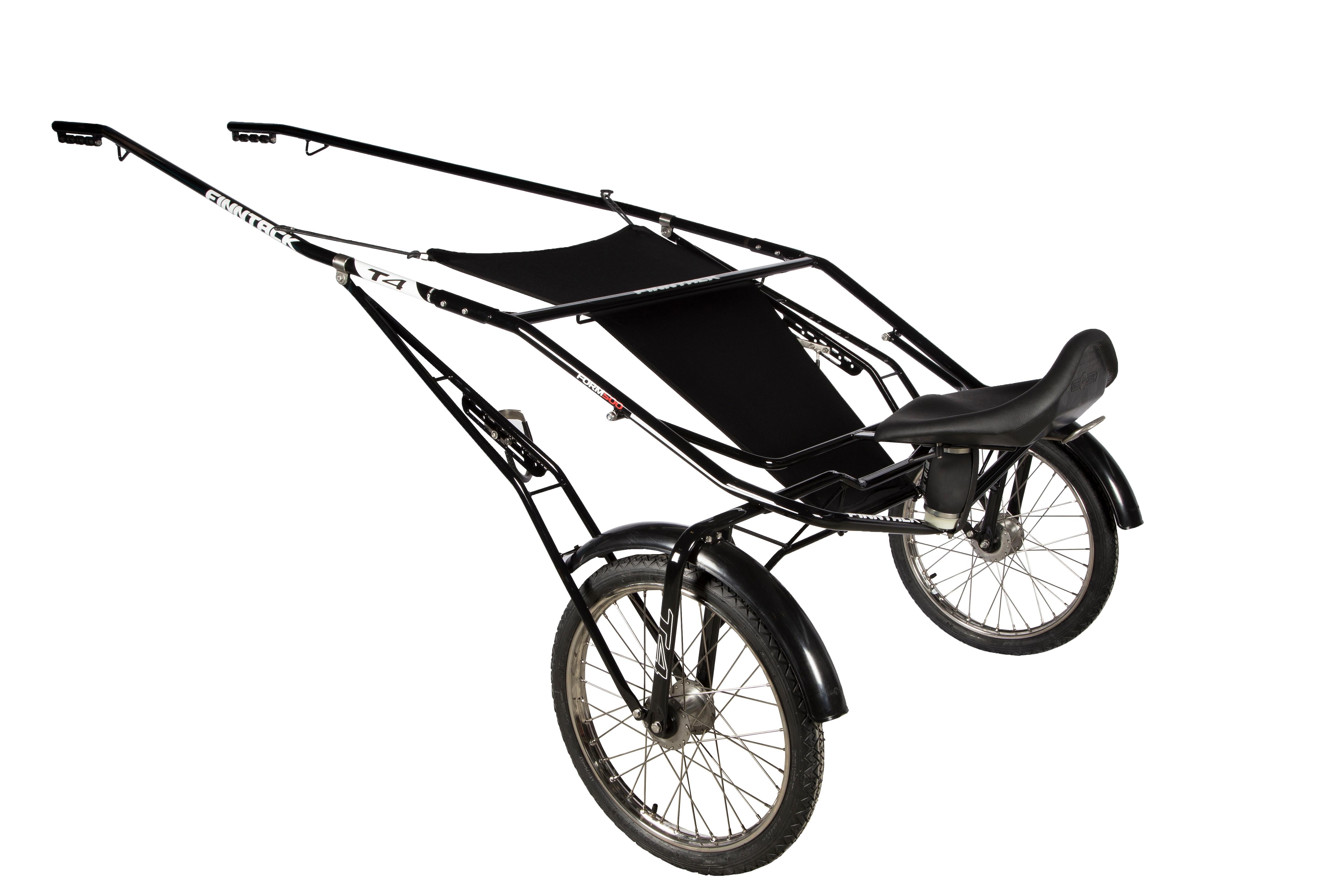 T4 QH speedcart med ståldrag og uten hjul
