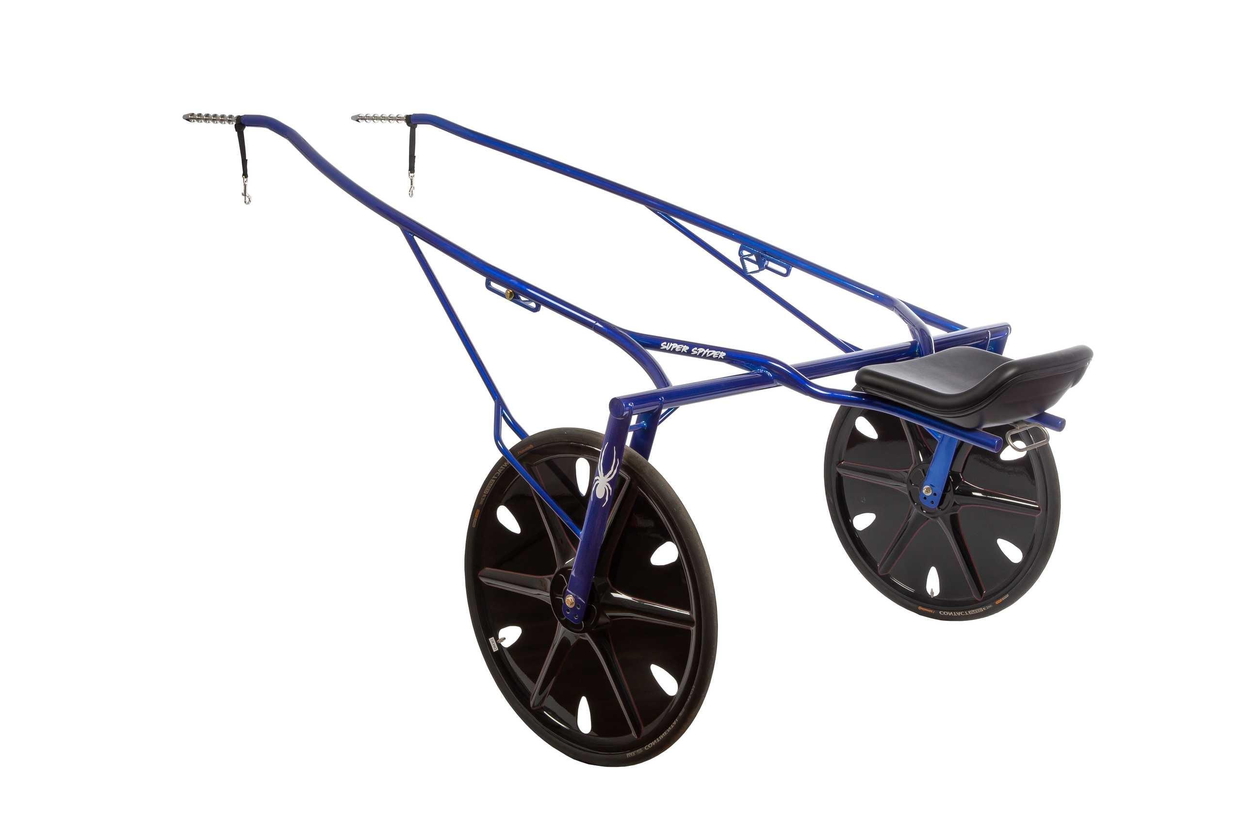 Super Spyder sulky uten hjul