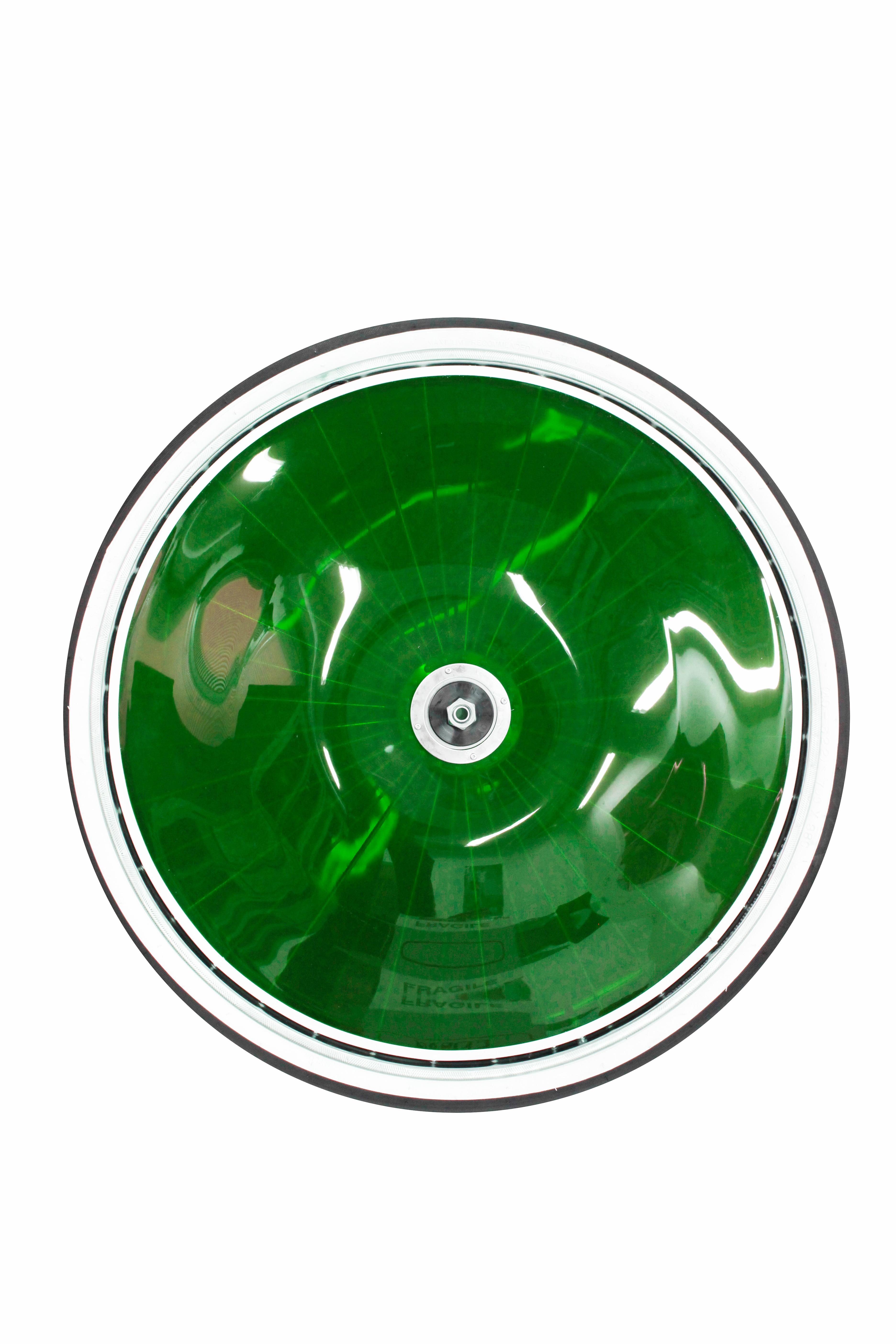 Finntack kilpakärryn rengas 28'', ruostumatonta terästä, värillisillä PVC-suojuksilla (myydään pareittain)