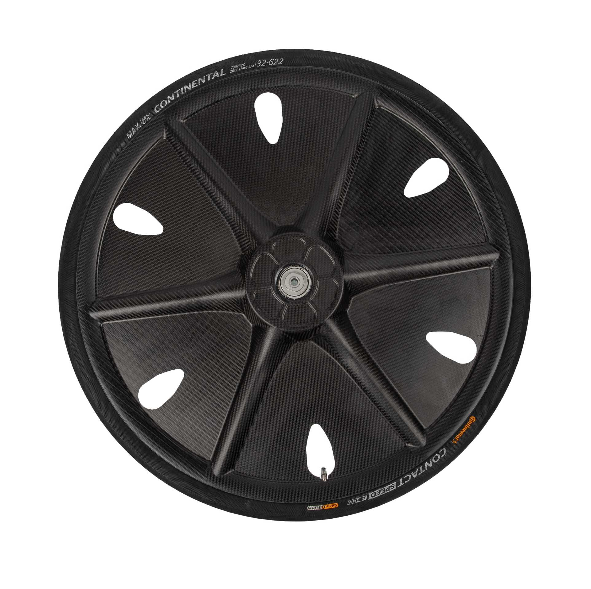 Finntack Crafit Carbon Fiber Wheel for Sulkies (67mm Axel), (Sold in pcs)