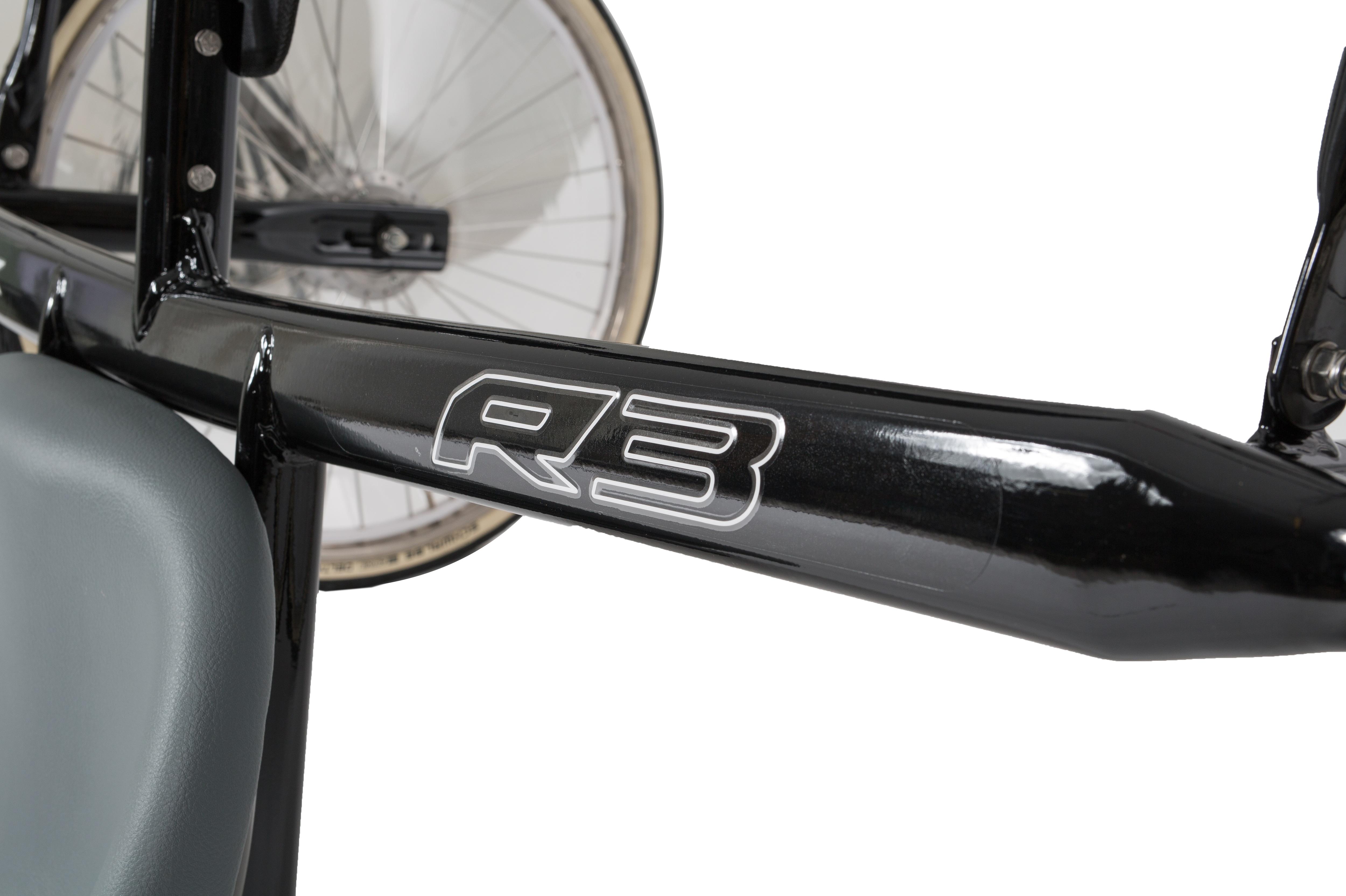Finntack R3 QH ponnisulky med ståldrag (uten hjul).