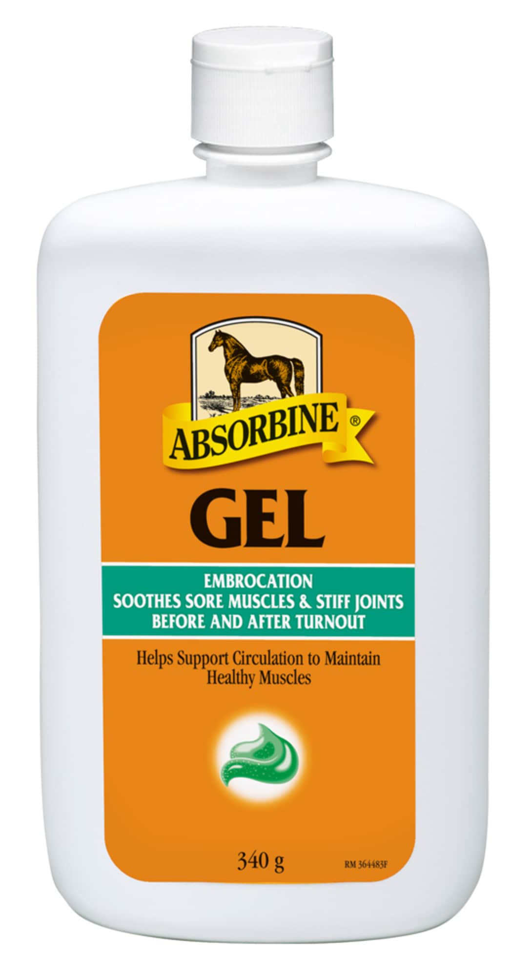 Absorbine Embrocation VetLin, gel, 340 ml