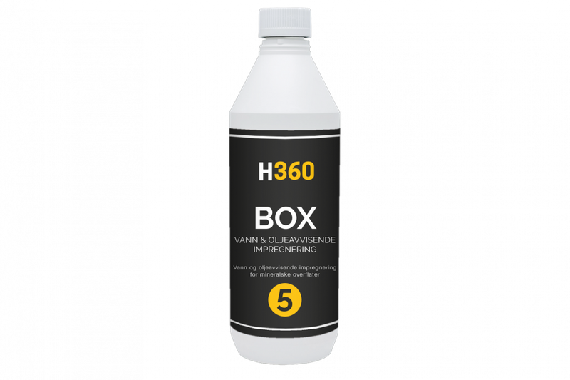 H360 BOX Vann- & oljeavvisende impregnering 1000 ml