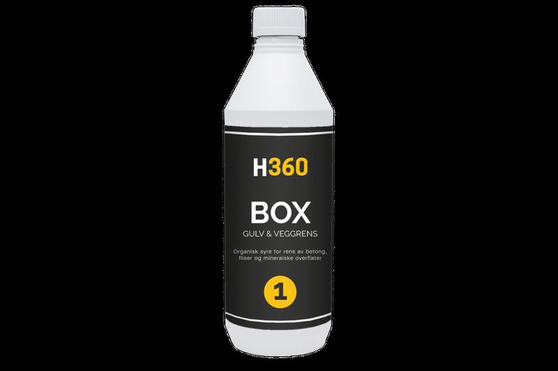 H360 BOX Gulv & Veggrens 1000 ml