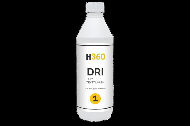 H360 DRI Flytende Tekstilvask 5000 ml